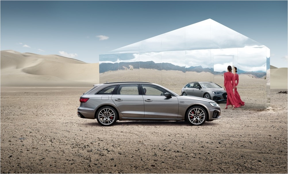Sommarspecial Audi A4 Avant.
