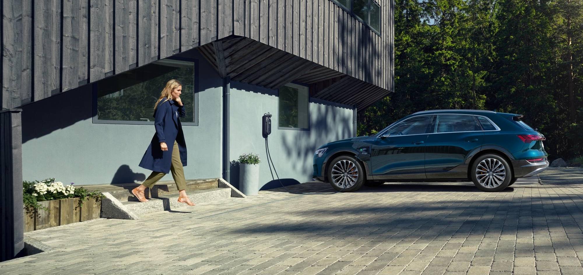 Elbilen Audi e-tron 55 quattro Proline